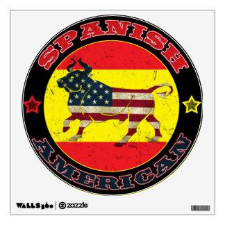 Spanish American Bull Wall Sticker