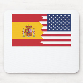 Spanish American Flag Mouse Pad