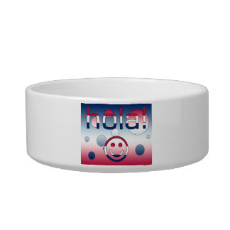 Spanish American Gifts  Hello / Hola + Smiley Face Bowl