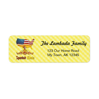 Spanish American Roots Address Labels