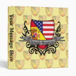 Spanish-American Shield Flag 3 Ring Binders