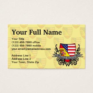 Spanish-American Shield Flag Business Card