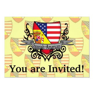 Spanish-American Shield Flag Card