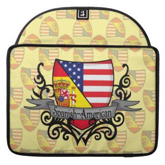 Spanish-American Shield Flag MacBook Pro Sleeves