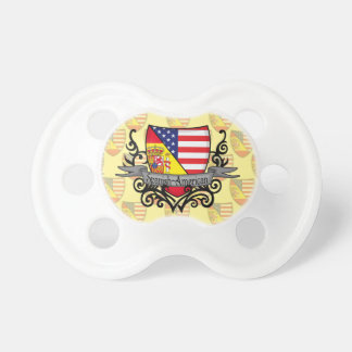 Spanish-American Shield Flag Pacifier
