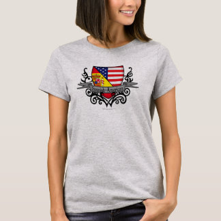 Spanish-American Shield Flag T-Shirt