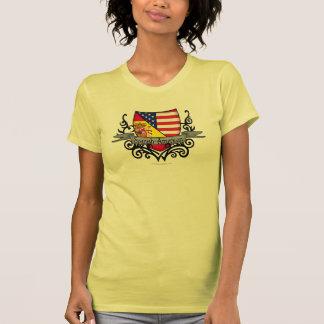 Spanish-American Shield Flag Tee Shirt