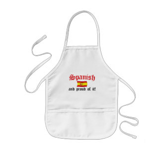 Spanish and Proud of It Kids' Apron