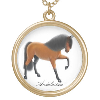 Spanish Andalusian Horse Necklace