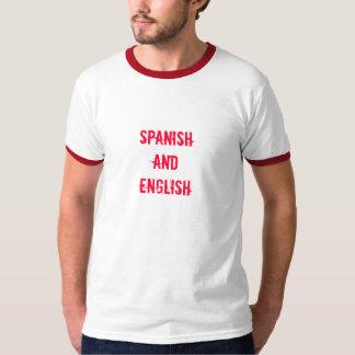 SPANISH andENGLISH tee by SweetKitten