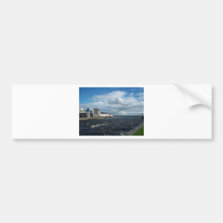 Spanish Arch and Long Walk, Galway. Bumper Sticker