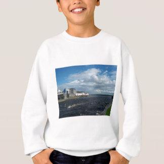 Spanish Arch and Long Walk, Galway. Sweatshirt