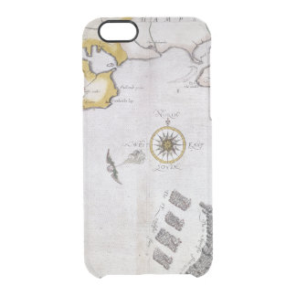 SPANISH ARMADA, 1588 2 CLEAR iPhone 6/6S CASE