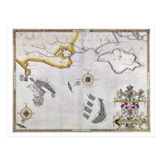 SPANISH ARMADA, 1588 2 POSTCARD