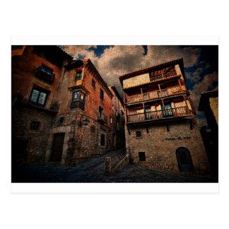 Spanish Art Architecture Postcard