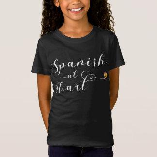 Spanish At Heart Tee Shirt, Spain