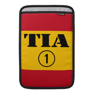 Spanish Aunts : Tia Numero Uno MacBook Air Sleeve