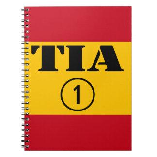 Spanish Aunts : Tia Numero Uno Notebook
