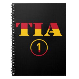 Spanish Aunts : Tia Numero Uno Spiral Notebook
