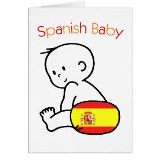 Spanish Baby Card