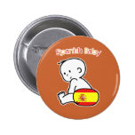 Spanish Baby Pinback Buttons