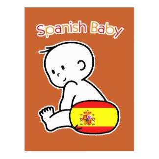 Spanish Baby Postcard