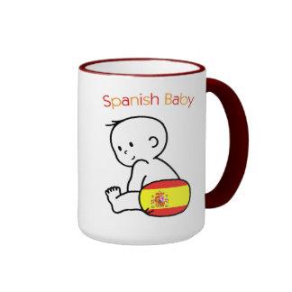 Spanish Baby Ringer Mug