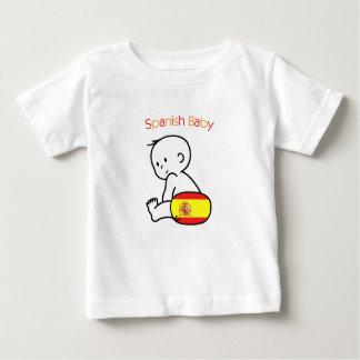 Spanish Baby Tee Shirt