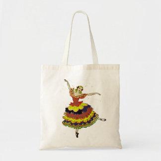 Spanish Ballerina Tote Bag