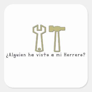 Spanish-Blacksmith Square Sticker