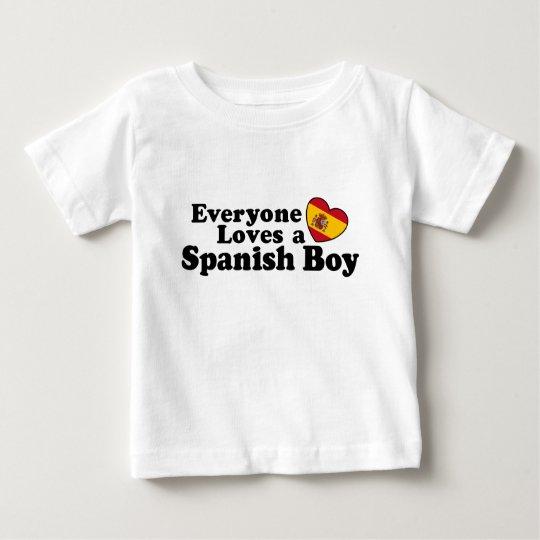 Spanish Boy Baby T-Shirt