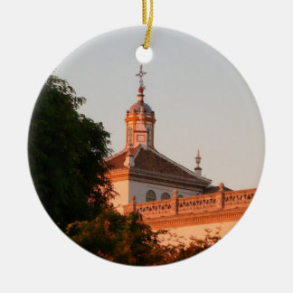 Spanish Building Ceramic Ornament