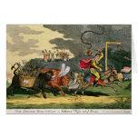 Spanish Bull Broke Lose or, Joseph's Flight Card