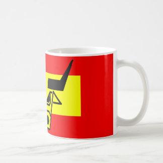 Spanish Bull Classic White Coffee Mug