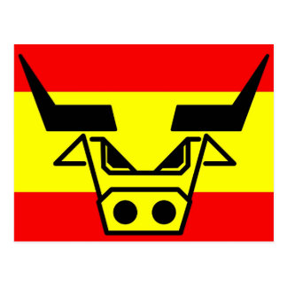 Spanish Bull Postcard