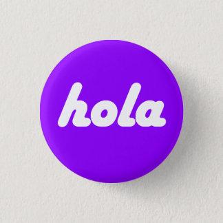 Spanish Button - Hola