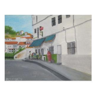 Spanish Cafe - Andalucia - Gaucin Postcard