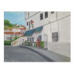 Spanish Cafe - Andalucia Postcard