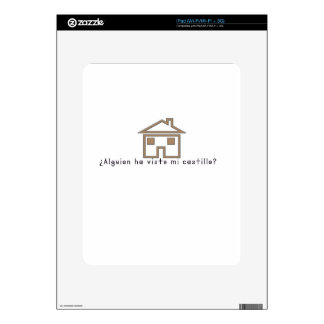 Spanish-Castle Skins For The iPad