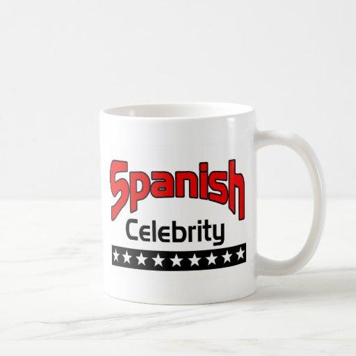 Spanish Celebrity Classic White Coffee Mug