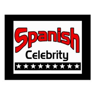 Spanish Celebrity Postcard