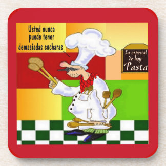 Spanish Chef Drink Coaster