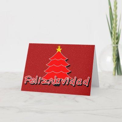 christmas card spanish
