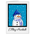 Spanish Christmas Card - Feliz Navidad