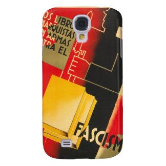 Spanish Civil War Anarchist / Facism Rare Poster Samsung Galaxy S4 Case