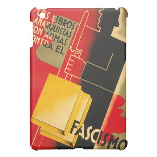 Spanish Civil War Anarchist / Facism Rare Poster iPad Mini Cases