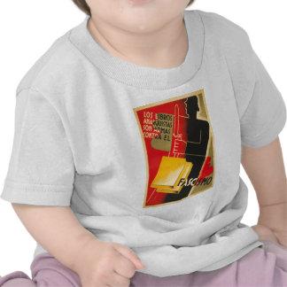 Spanish Civil War Anarchist / Facism Rare Poster T Shirts
