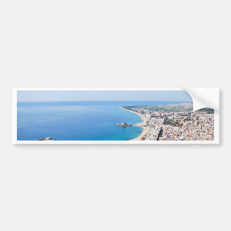 Spanish Coastline Bumper Sticker