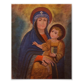 Spanish Colonial Madonna Print