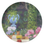 Spanish Courtyard) Party Plate